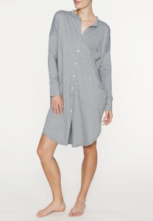 - Gerdi Ночная рубашка Серый меланж SUNDAY IN BED