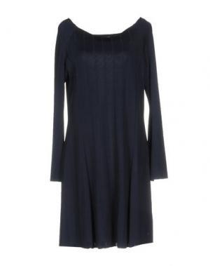 Короткое платье CARLA G.. Цвет: темно-синий