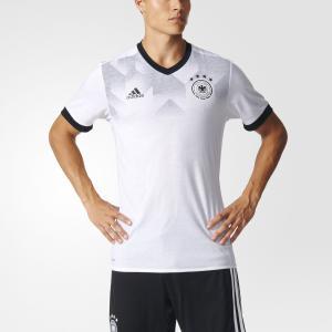 Домашняя предматчевая футболка сборной Германии  Performance adidas. Цвет: черный