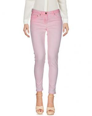 Повседневные брюки ANNARITA N.. Цвет: розовый