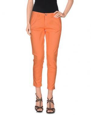 Брюки-капри 40WEFT. Цвет: оранжевый