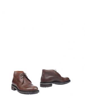 Полусапоги и высокие ботинки SEBOY'S. Цвет: какао