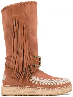 Mueskitallsue boots Mou. Цвет: коричневый