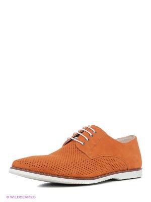 Туфли Marko. Цвет: оранжевый