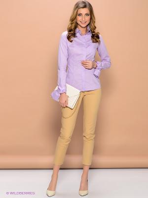 Блуза ELENA FEDEL. Цвет: сиреневый