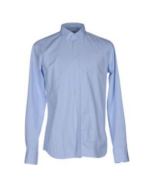 Pубашка BEVILACQUA. Цвет: лазурный