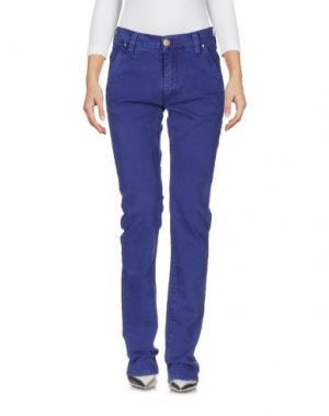 Джинсовые брюки HEAVY PROJECT. Цвет: темно-синий