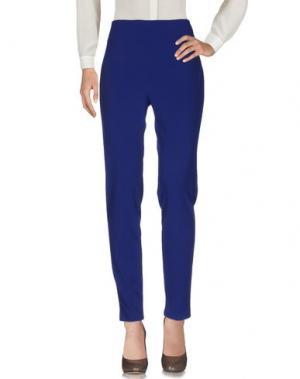 Повседневные брюки NANUSHKA. Цвет: ярко-синий