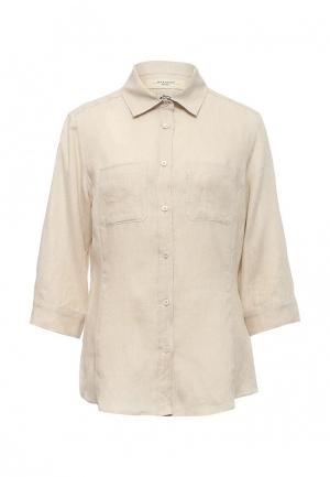 Рубашка Weekend Max Mara. Цвет: бежевый