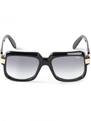 Квадратные солнечные очки Cazal. Цвет: чёрный