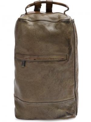 Рюкзак в стиле милитари Numero 10. Цвет: зелёный