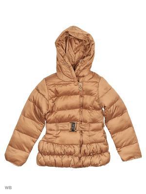 Куртка Cherche. Цвет: золотистый