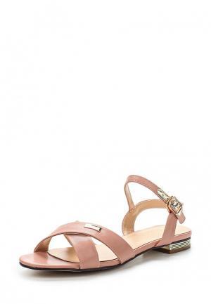 Сандалии Inario. Цвет: розовый