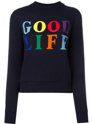 Толстовка Good Life Être Cécile. Цвет: синий