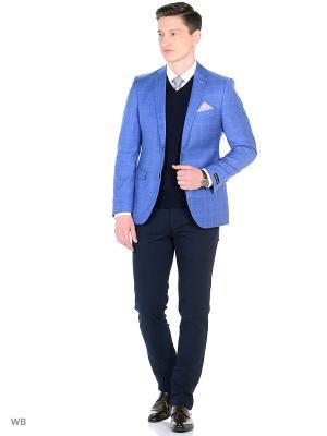 Пиджак Barkland. Цвет: голубой