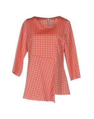 Блузка CORINNA CAON. Цвет: красный