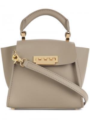 Мини сумка через плечо Eartha Iconic Top Handle c Zac Posen. Цвет: телесный