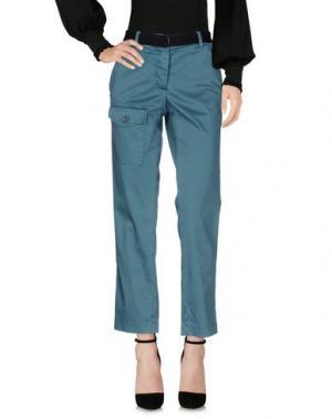 Повседневные брюки ...À_LA_FOIS.... Цвет: цвет морской волны