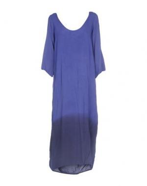 Платье длиной 3/4 MONICA •LENDINEZ. Цвет: темно-фиолетовый
