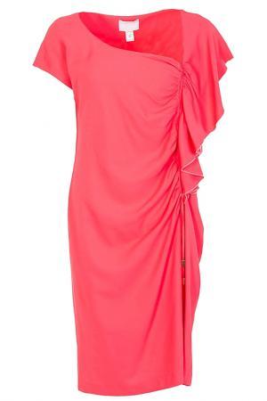 Платье Class Cavalli. Цвет: розовый
