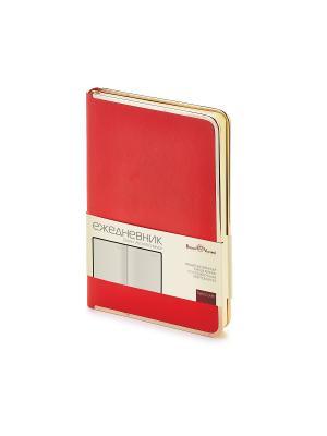 Ежедневник a5 chelsea (красный) Bruno Visconti. Цвет: красный
