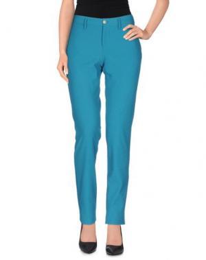 Повседневные брюки PT0W. Цвет: цвет морской волны