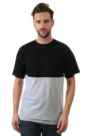 Футболка  323 Black/Grey Anteater. Цвет: черный,серый