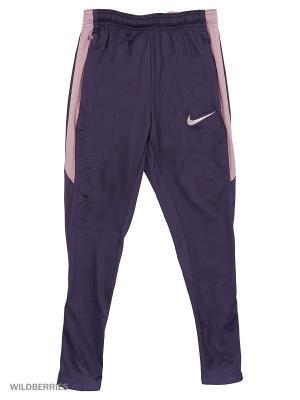 Брюки Y NK DRY SQD PANT KPZ Nike. Цвет: темно-фиолетовый
