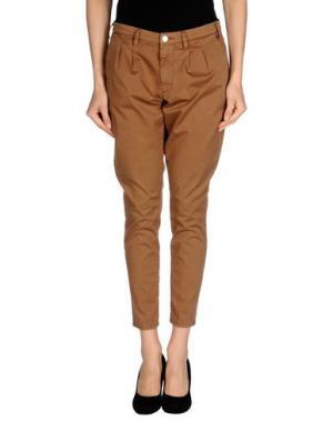 Повседневные брюки (+) PEOPLE. Цвет: верблюжий