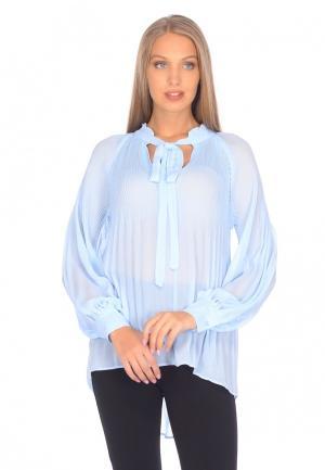 Блуза Cavo. Цвет: голубой