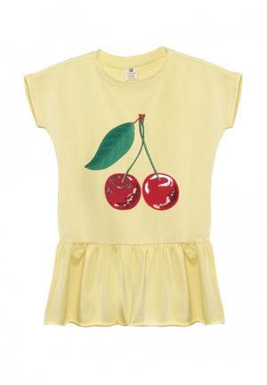 Платье Cava. Цвет: желтый