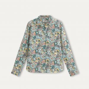 Рубашка BRITANNY SESSUN. Цвет: набивной рисунок