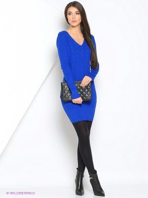 Платье Monlaydia. Цвет: синий