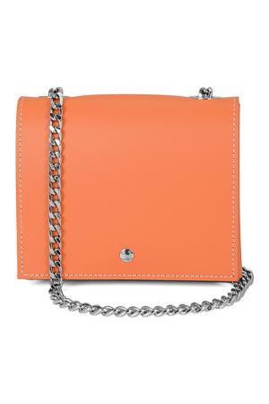 Сумка ALMINI MILANO. Цвет: orange