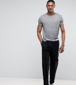 ASOS Трикотажные пижамные джоггеры TALL. Цвет: черный