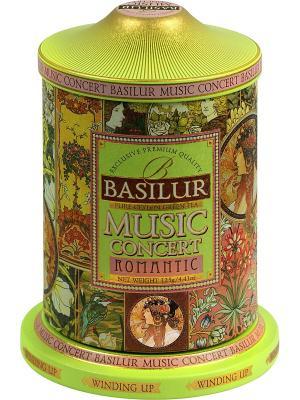 Чай Basilur  Музыкальная шкатулка. Цвет: черный