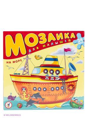 Мозаика На море Дрофа-Медиа. Цвет: желтый, красный
