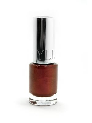 Лак для ногтей Glamour ИЛЛОЗУР. Цвет: коричневый
