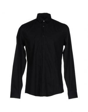 Pубашка DANIELE ALESSANDRINI. Цвет: черный
