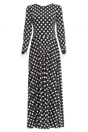 Платье из вискозы 157702 Katya Anderzhanova. Цвет: монохром
