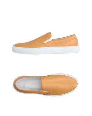 Низкие кеды и кроссовки PANTOFOLA D'ORO. Цвет: охра