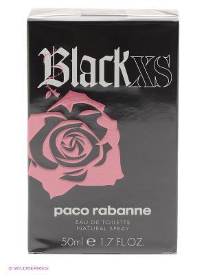 Paco Rabanne Black XS For Her Ж Товар Туалетная вода 50 мл. Цвет: прозрачный