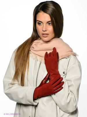 Перчатки Labbra. Цвет: рыжий
