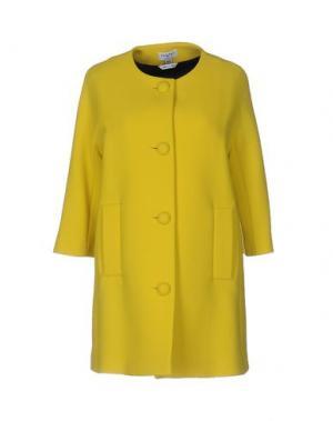 Пальто PIU' &. Цвет: желтый