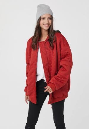 Куртка утепленная Fly. Цвет: красный