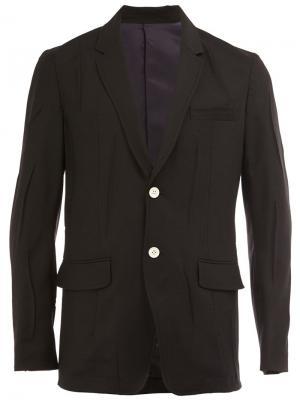 Однобортный пиджак Undercover. Цвет: чёрный