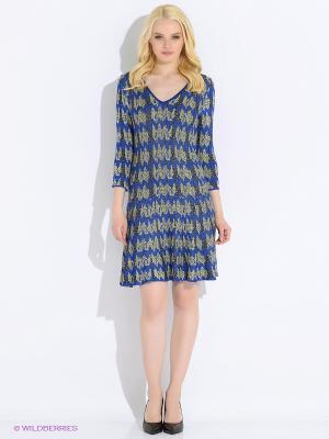 Платье M.Rena. Цвет: синий