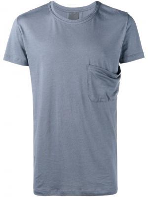 Джинсовая рубашка Lot78. Цвет: синий