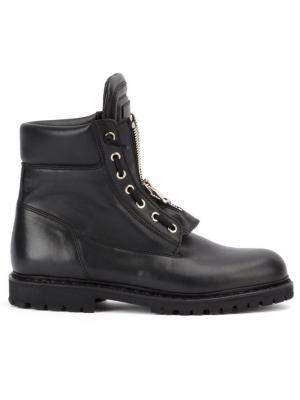 Ботинки Taiga Ranger Balmain. Цвет: чёрный