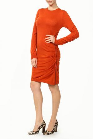 Платье Joseph. Цвет: оранжевый